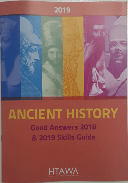 WACE Ancient History Study Guide (2019) - Click to enlarge picture.